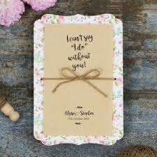 Rustic Invitations Rustic Wedding Invitations With A Vintage Feel