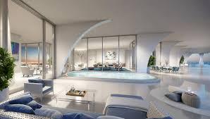 Penthouse Design Pierres Yves Rochon Creates Custom Interior For Jade Signature