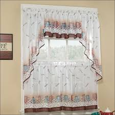 Kitchen Valances And Tiers by Kitchen Kitchen Tier Curtains 48 Inch Curtains 40 Inch Long