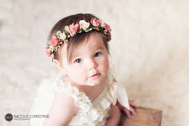 baby flower headbands gold baby flower crown dusty crown cake smash