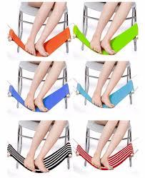 adjustable desk feet rest pedal hammock for office home 12 81