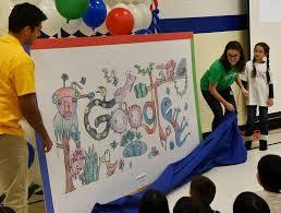 doodle 4 contest schaumburg third grader illinois winner of doodle contest