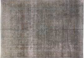gray pink overdyed persian oriental rug 9 u0027 x 13 u0027 hand knotted wool