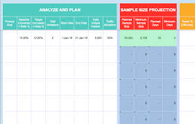 Testing Template Excel Introducing The 2016 Testing Toolkit Optimizely