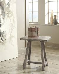 Chair Side End Table Vennilux Grayish Brown Chair Side End Table For 119 94 Furnitureusa