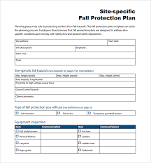 fall protection plan template ultra safe inc how to develop a