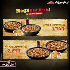 discounts pakistan deals discounts promotions pizza hut