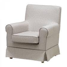 Grey Check Sofa Ikea Ektorp Jennylund Armchair Slipcover Cover Sagmyra Gray Grey Check