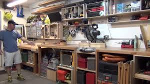 building a workshop garage garage workshop tour youtube