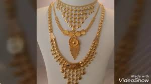 gold ornaments design by adithya gold jewellers mela