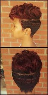 bohemian hairstyles for black women cute red colored black short hairstyles hair styles pinterest