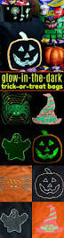 diy glow in the dark trick or treat bags mom on timeout