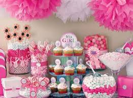 baby shower for girl ideas baby girl shower ideas mint candy cupcakes lollipop menu