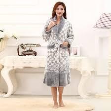 robe de chambre en courtelle femme de chambre femme molleton