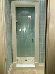 28 Shower Door 24 28 Frameless Shower Door With Brushed Nickel Or Chrome