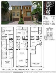 duplex townhouse plan e4050 plans pinterest townhouse town