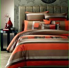 Orange Bed Sets Brown Comforter Sets King Size Green And Brown Bedding Sets