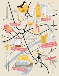 Map Of Manchester England by Illustrated Map Of Newcastle By Tom Woolley Illustrated Maps