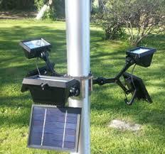 solar led flagpole light commercial solar light flagpole light polepalusa