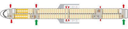 757 seat map boeing 757 300 condor