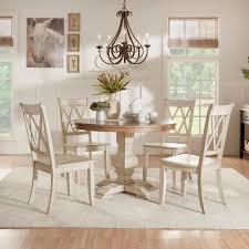 homesullivan sawyer 5 piece antique white mission x dining set homesullivan sawyer 5 piece antique white mission x dining set