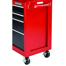 craftsman 114883 5 drawer ball bearing rolling cabinet sears