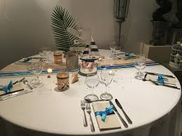 table ronde mariage decoration table ronde mariage nivaply