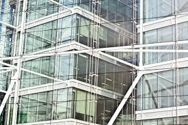 london glass building stock sandwich glass building by tower bridge london