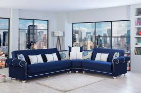 Blue Sectional Sofa With Chaise Contemporary Navy Blue Sectional Sofa With Chaise â