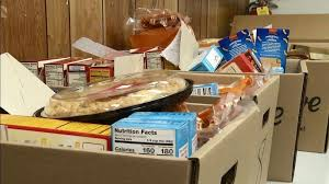 organizations join to out free thanksgiving dinner baskets wics