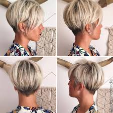 short mid hair pushed behind ears 10 latest pixie haircut for women 2018 short haircut ideas with
