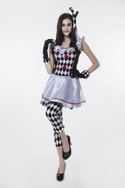 online get cheap black and white clown dress aliexpress com