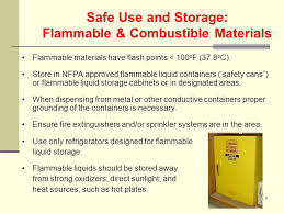 what should be stored in a flammable storage cabinet general lab safety information ppt video online download