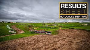 motocross race results results sheet 2017 motocross of nations saturday motocross