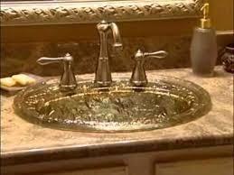 decorative bathroom sink basin sink glass vessel and animals on