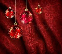 christmas balls on velvet background stock photo colourbox