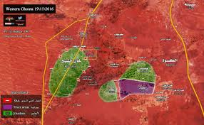 Damascus Syria Map Map Update Syrian Army Continues To Strangle Jihadist West Ghouta