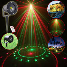 new suny outdoor laser light garden landscape remote projector 20