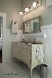Repurposed Bathroom Vanity by Eclectic Home Tour Living Vintage Bathroom Vanities