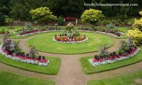 excellent idea flower garden designs and layouts flower bed