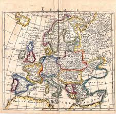 Old Map Of Europe by Circle 7 Framing Antique Maps Europe
