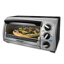 Black & Decker TRO480BS 4 Slice Toaster Oven Black Silver Review