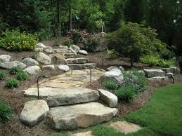 Backyard Hill Landscaping Ideas Triyae Com U003d Backyard Hill Retaining Wall Various Design