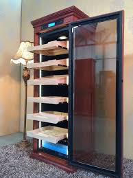 cigar humidor display cabinet touch screen climate controlled cigar humidor cabinet vinbro