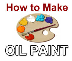 how to make your own oil paint at home artpromotivate