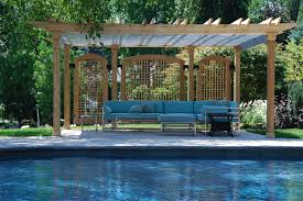 Pergola Gazebo With Adjustable Canopy by Pool Shade Ideas 7 Ways To Cover Your Swimming Pool