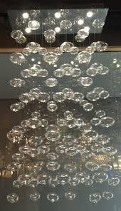 Glass Bubble Chandelier Chandeliers Bubble Chandelier Rectangle Modern Lighting