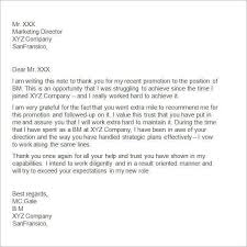 best solutions of thank you letter to boss for new opportunity