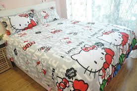 magnificent hello kitty bedroom set