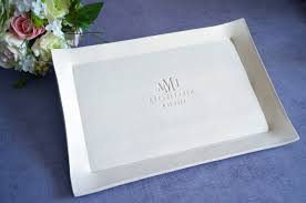wedding platter susabella large rectangular wedding signature guestbook platter